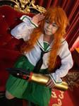 Saori from Girls und Panzer 2 by Heatray2009