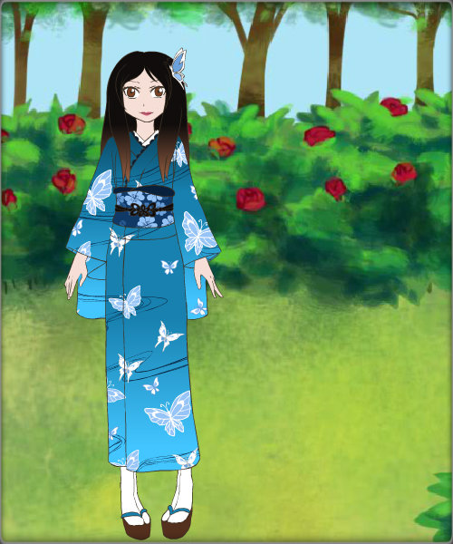 Kimono Maker ~ Jessica Eagle by MiniatureBlueOwl