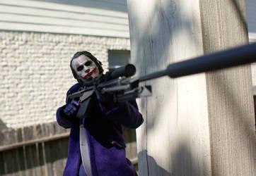 Joker .50 Cal Blues by mrk9sp