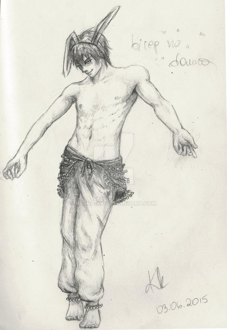 Bunny dancer by ReEna-Kk