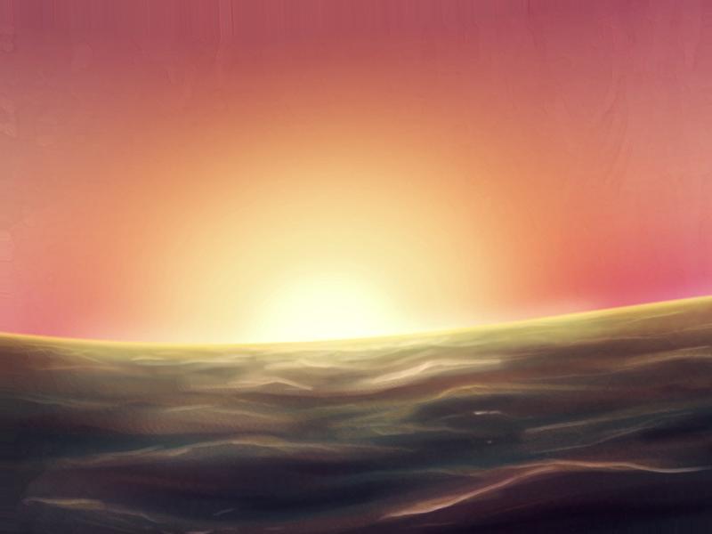 Ocean Sun by ReEna-Kk