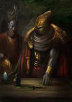Morrowind graves of ancestors by IgorLevchenko