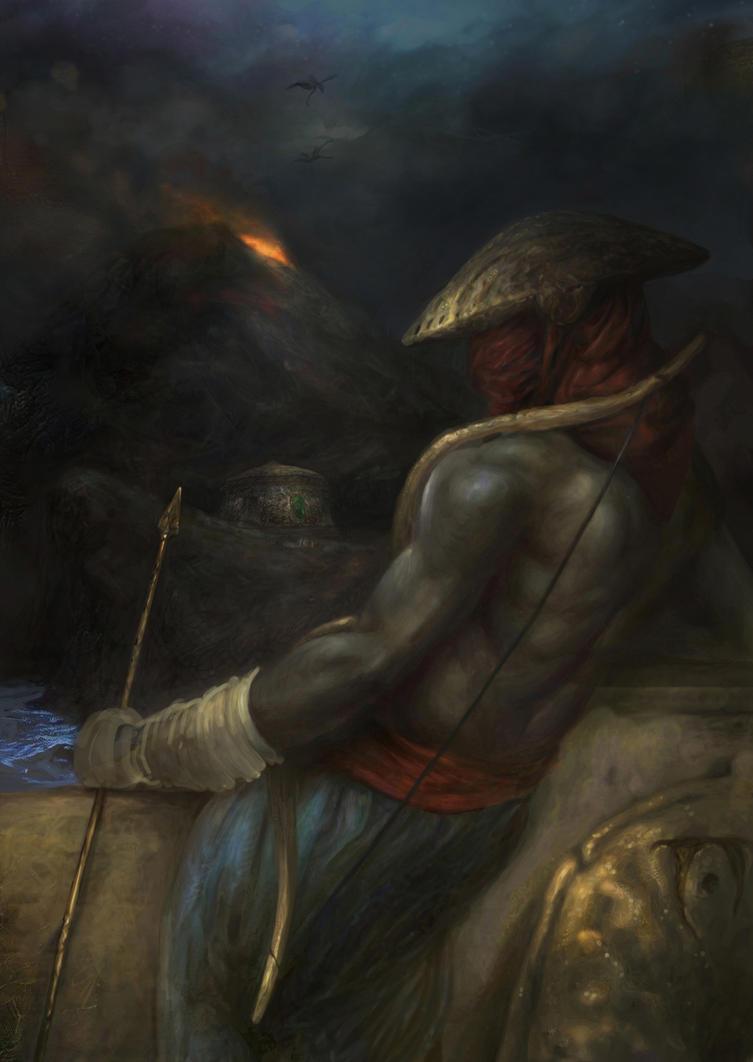 Morrowind: Redoran Watch (Valenvaryon) by IgorLevchenko