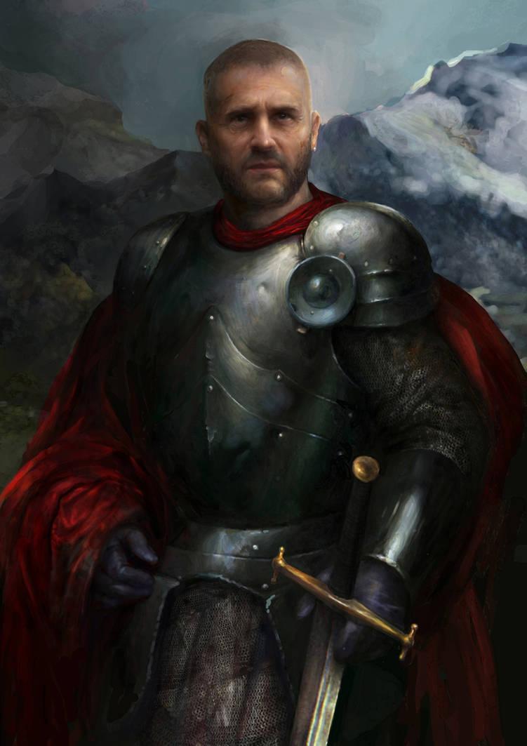 Knight by IgorLevchenko