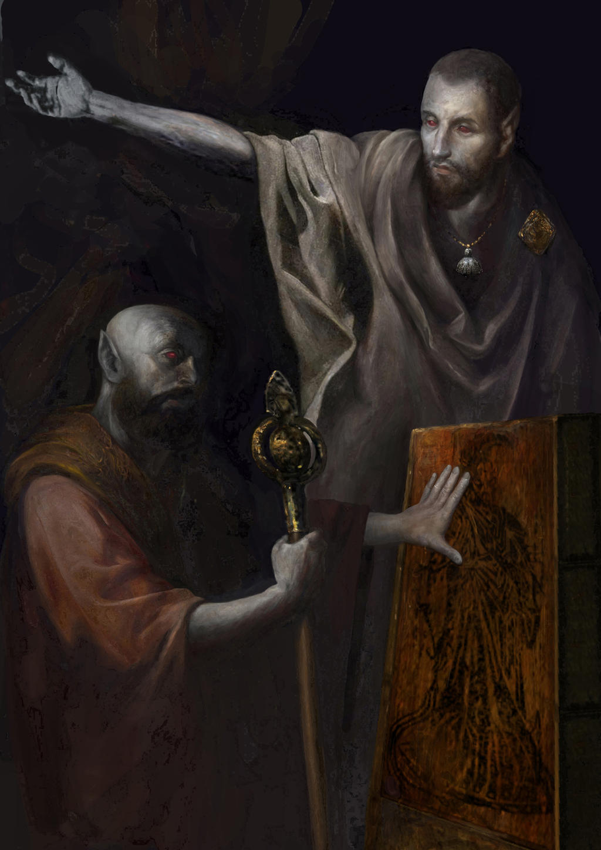 Morrowind: Dissident priests by IgorLevchenko