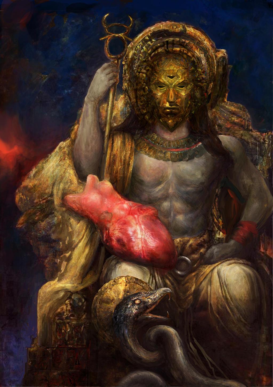 Morrowind: Lord Dagoth by IgorLevchenko on DeviantArt