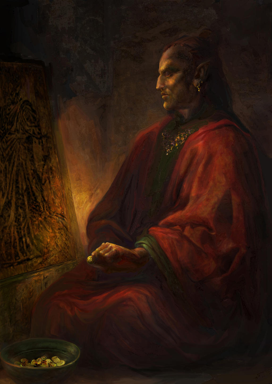 Morrowind: Temple donation by IgorLevchenko