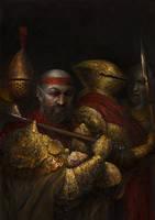 Morrowind: Redoran skirmishers by IgorLevchenko