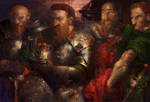 Dragon Age:Coronation of king Bhelen by IgorLevchenko