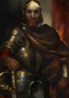 Morrowind: Portrait of Duke Vedam Dren by IgorLevchenko