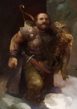Icewind dale: Dwarf ranger