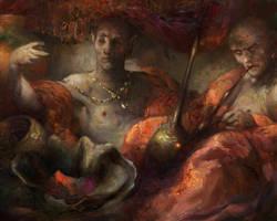 Morrowind: Vendors of alchemical ingredients by IgorLevchenko