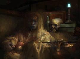 Morrowind: Raven Rock trader shop by IgorLevchenko