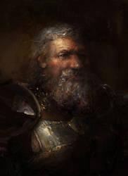 Dragon Age:King Endrin (dark) by IgorLevchenko