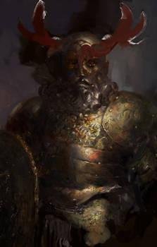 Icewind dale: Dwarf cleric of Bane