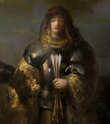 Lady Black Death by IgorLevchenko