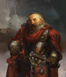 Icewind dale: Dwarf stormlord of Talos by IgorLevchenko