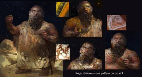 Kegiz Gavem (T9A) :geological patterns by IgorLevchenko