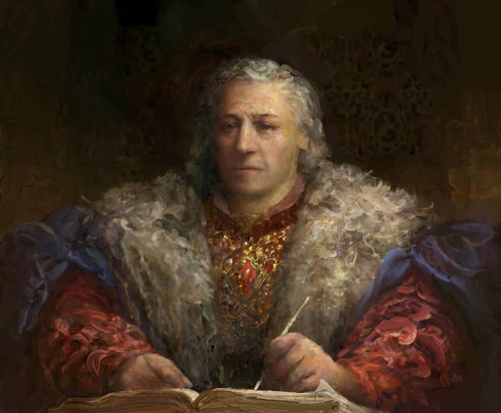 Emperor Uriel Septim VII by IgorLevchenko