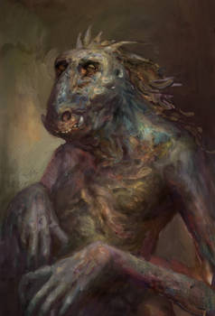 On phylogeny of aquatic trolls (horse taxon)
