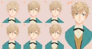 How to paint Hair + Step by Step + feat. Newt
