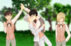 YOI : give me five by Nekuromii