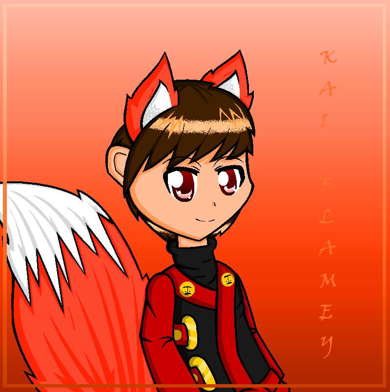Fox Neko Kai by Lesley-The-Devil