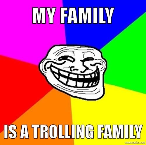 My Family Meme by Lesley-The-Devil