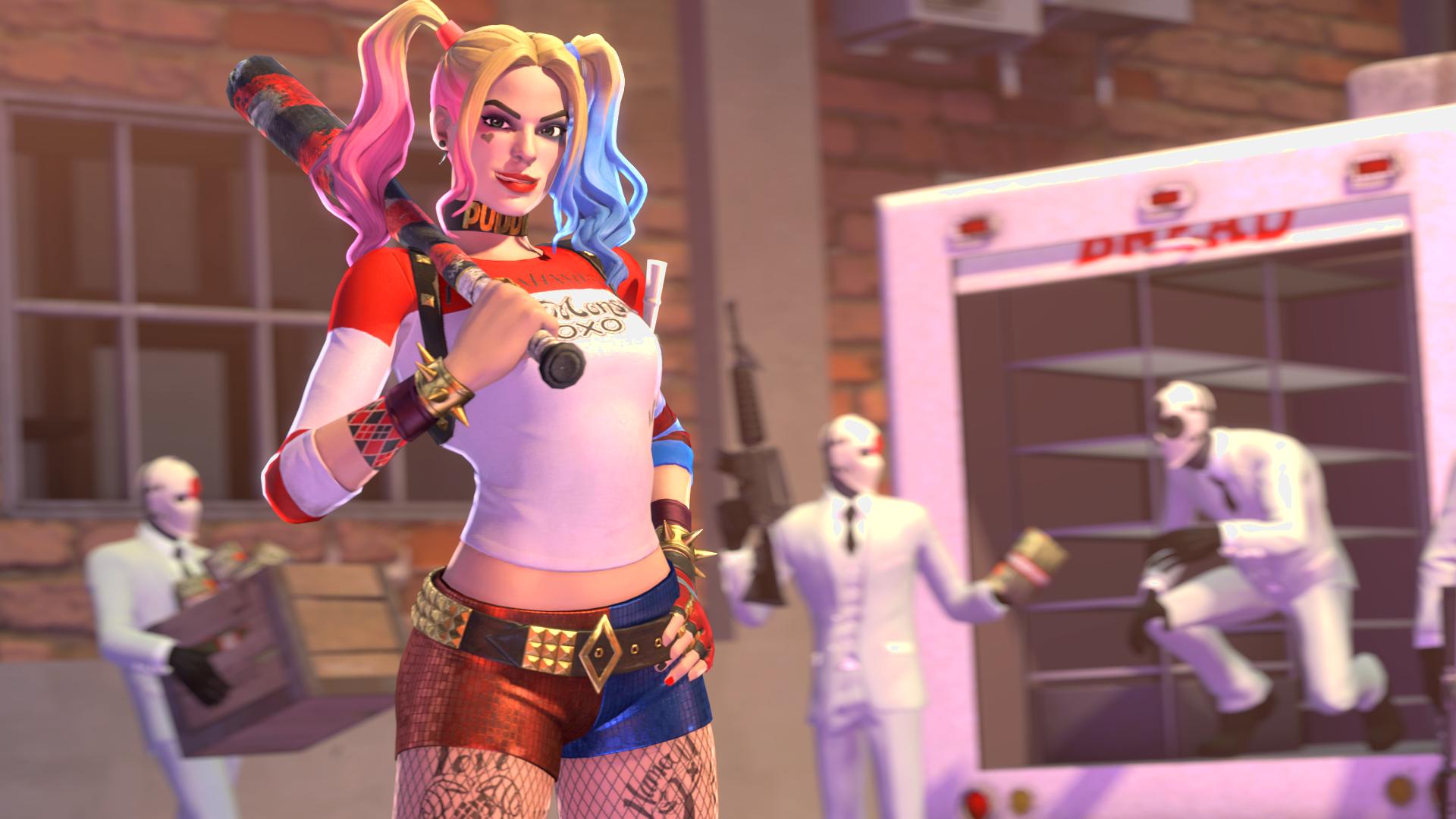 Fortnite Harley Quinn By Steakpunk On Deviantart