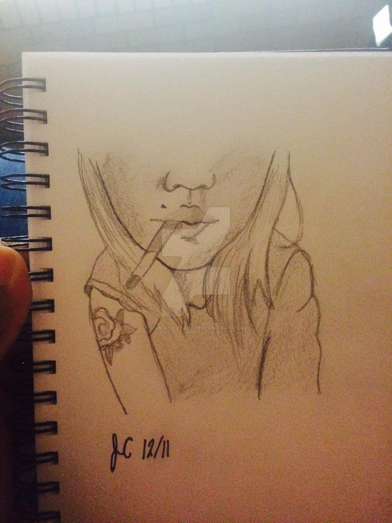 Cigarette Lust by yunalover12
