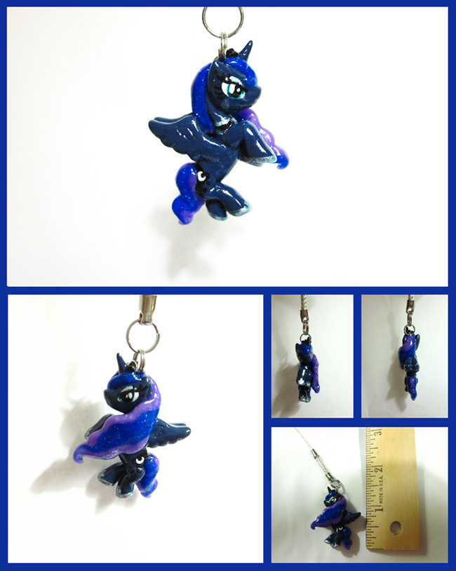 Princess Luna Keychain/Charm by minnichi