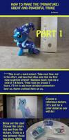 TUTORIAL PART 1: The Making of Mini Trixie