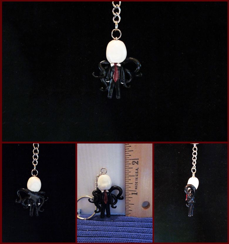 Slendy Charm/Keychain by minnichi