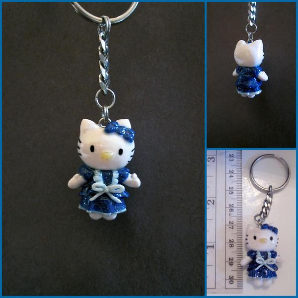 Hello Kitty Keychain by minnichi