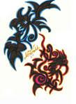 Tattoo Designs or Runes