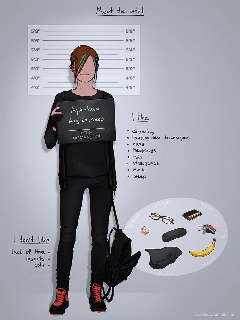 Meet the artist by Google-Moogle