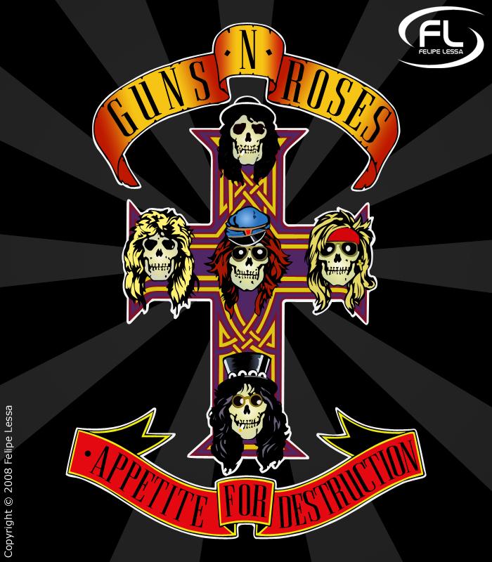 Guns N Roses By Felipelessa On Deviantart