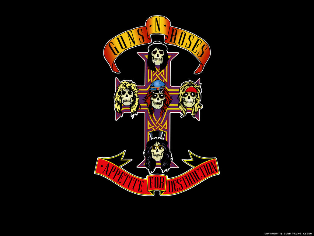 Wallpaper Guns N' Roses by felipelessa