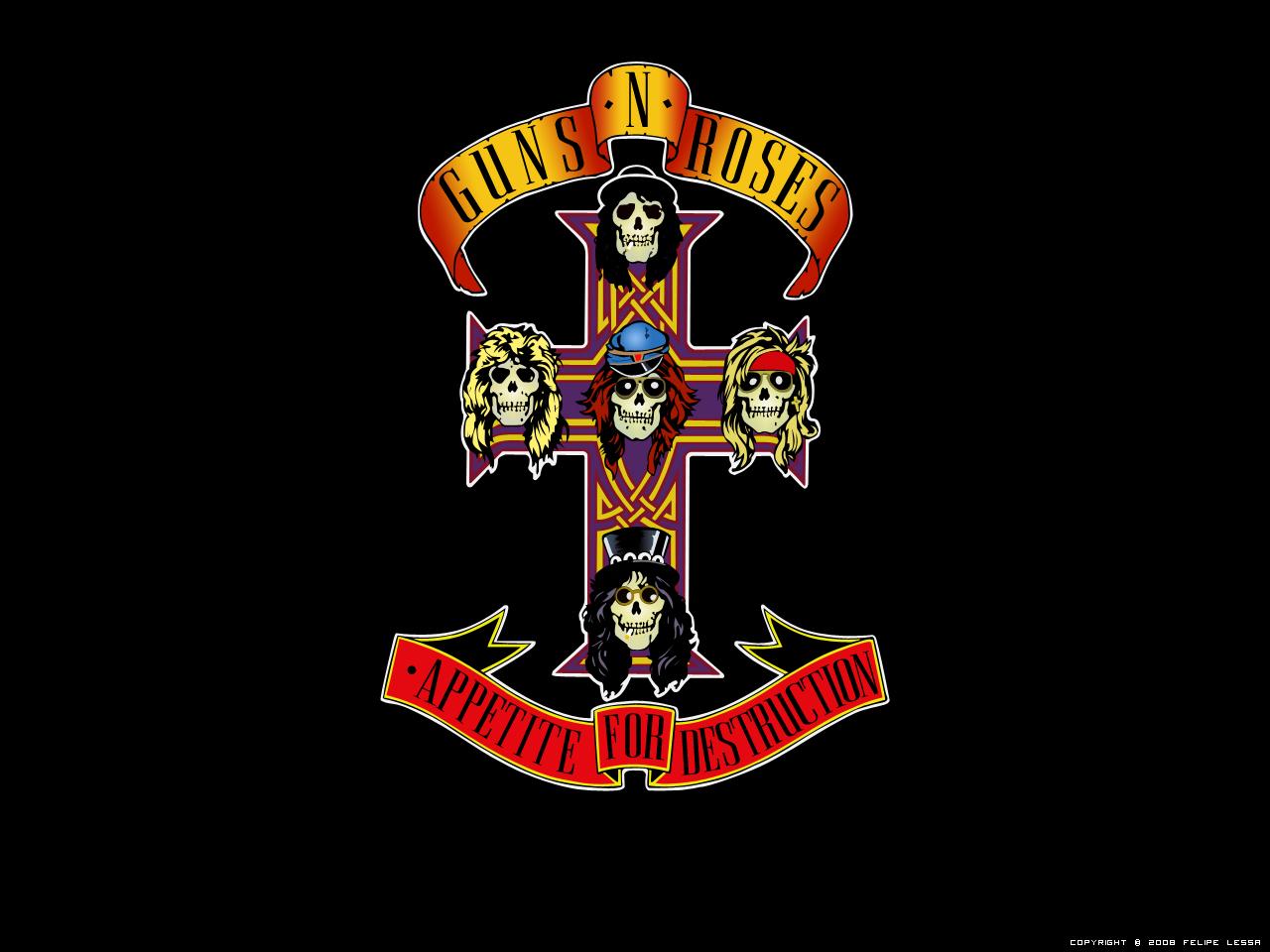Guns N Roses Wallpaper: Wallpaper Guns N' Roses By Felipelessa On DeviantArt