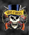 Skull Guns N' Roses