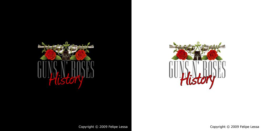 Logo Guns N Roses History By Felipelessa On Deviantart