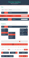 Flat User Interface - Web UI Kit