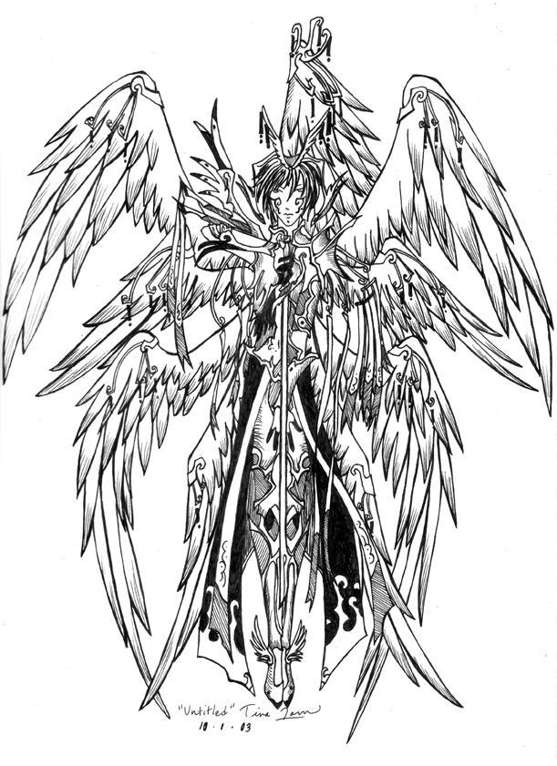 Seraph wings necklace - fimo by LiselleAngelique on DeviantArt