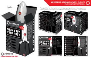 Aperture Science Sentry Turret by BlackKrogoth