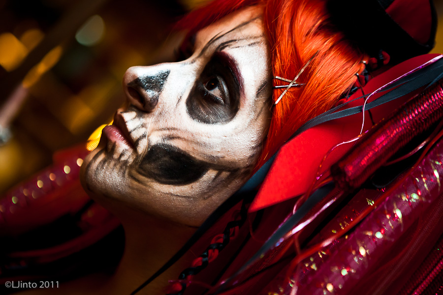 Skull Makeup by BlackKrogoth