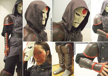 Completed Amon Cosplay by BlackKrogoth