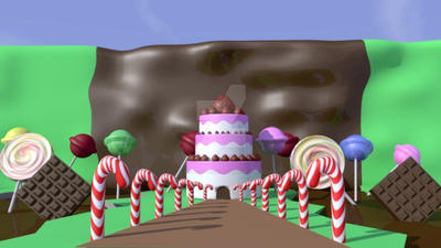 Candyland(3d version) by materialize6