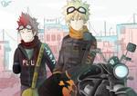 Kacchan and Kirishima
