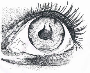 deep eye by Czarno-biauy
