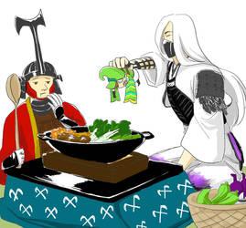 dinnertime by kasutera